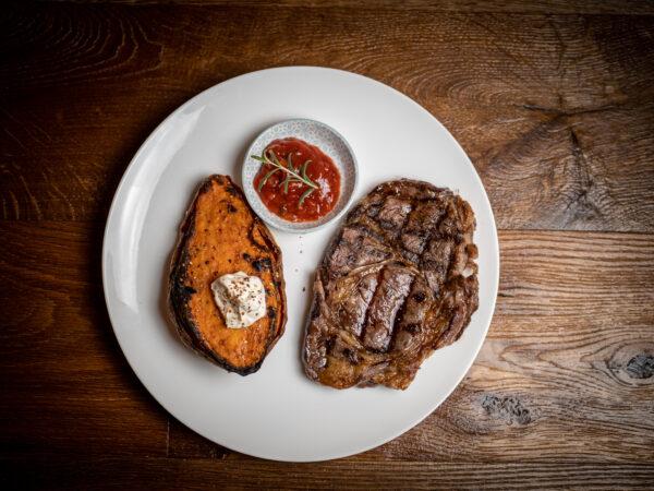 Steak vom Sylter Galloway Rind