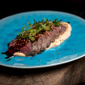 Beef Tataki vom Sylter Galloway
