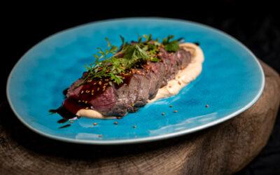 Beef Tataki vom Sylter Galloway Rind für 4 Personen
